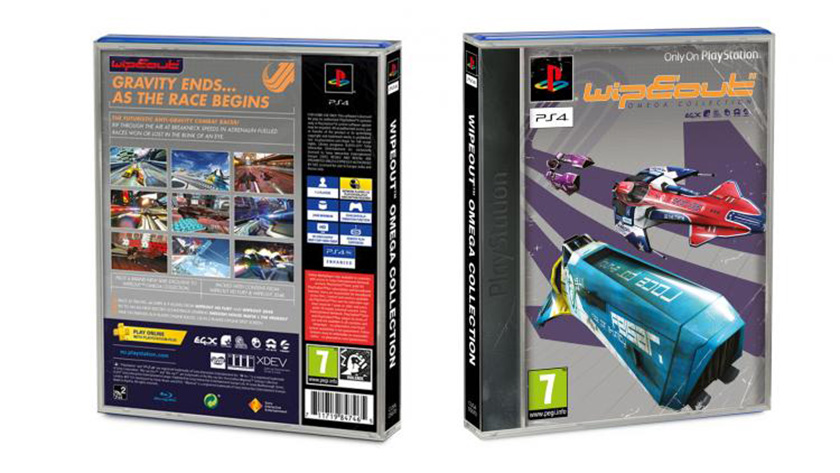 WipEout: Omega Collection Limited Edition Classic Sleeve