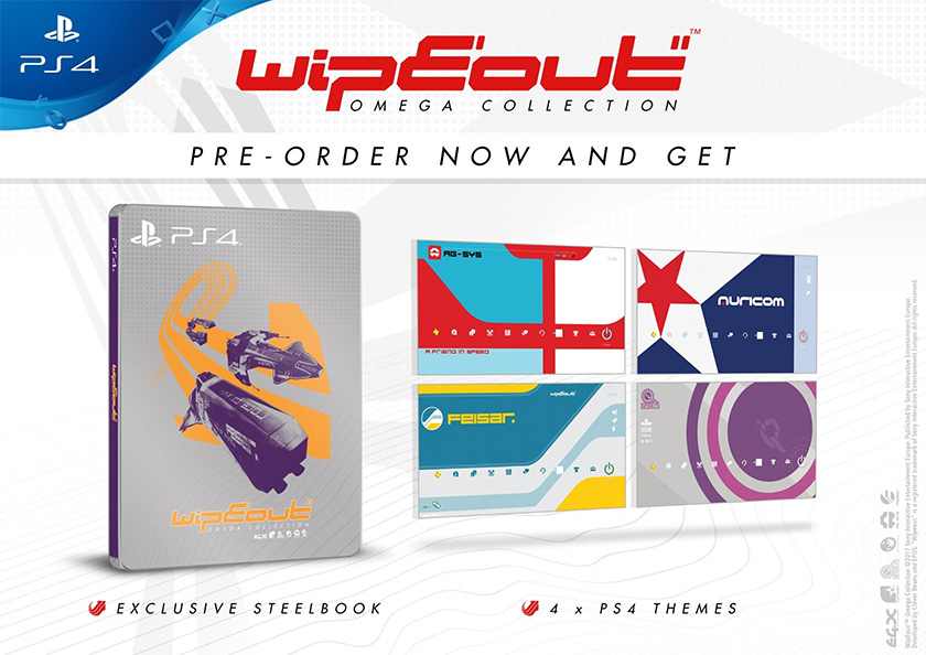 WipEout: Omega Collection steelbook
