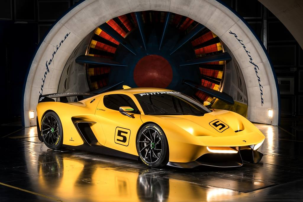 Racing version of Fittipaldi EF7 Vision Gran Turismo in the pipelines