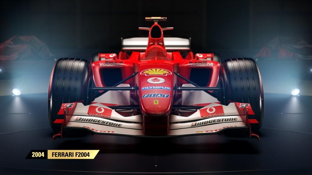 Codemasters showcases F1 2017's classic Ferrari quartet