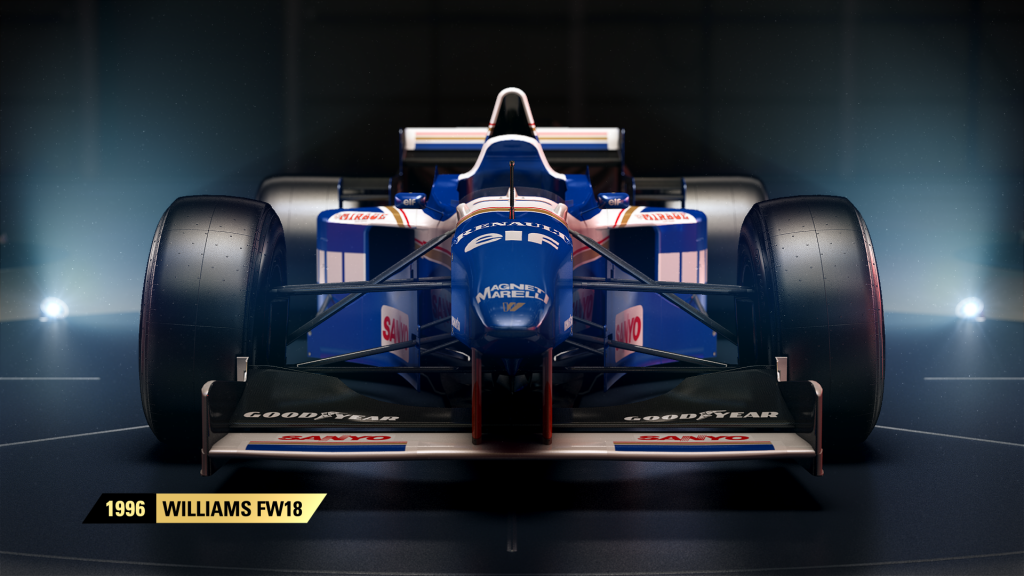 F1 2017's classic Williams F1 car duo confirmed