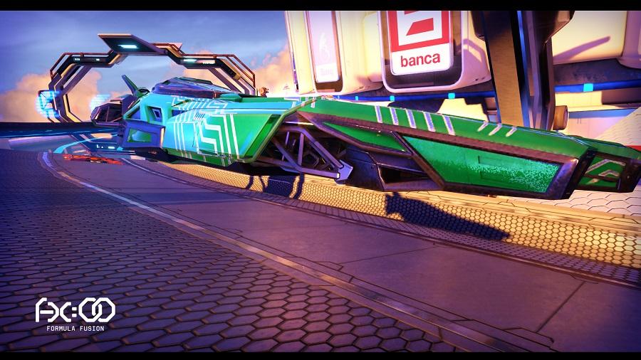 Futuristic racer Formula Fusion releases on PC