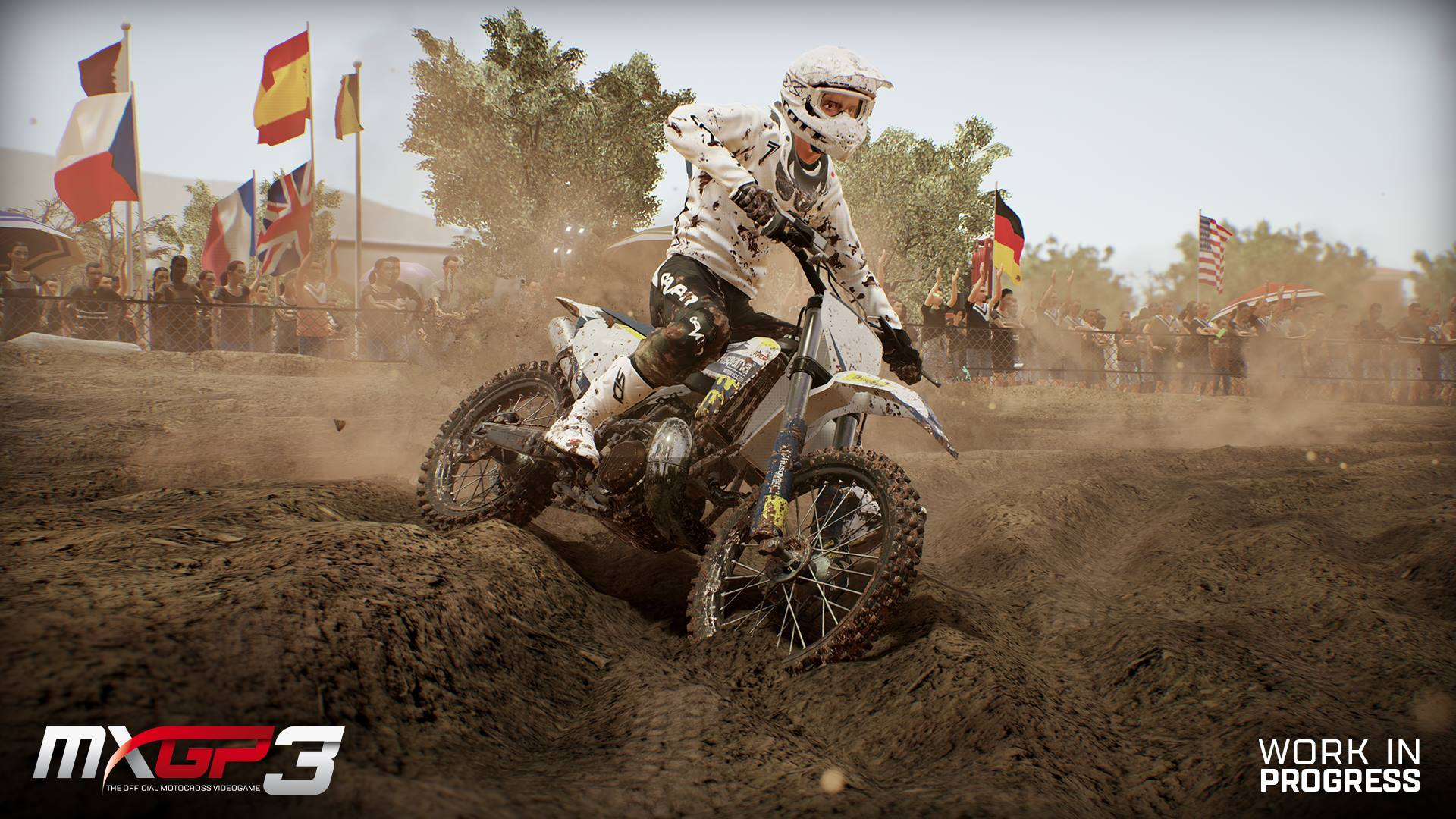 MXGP 3 screenshot terrain deformation