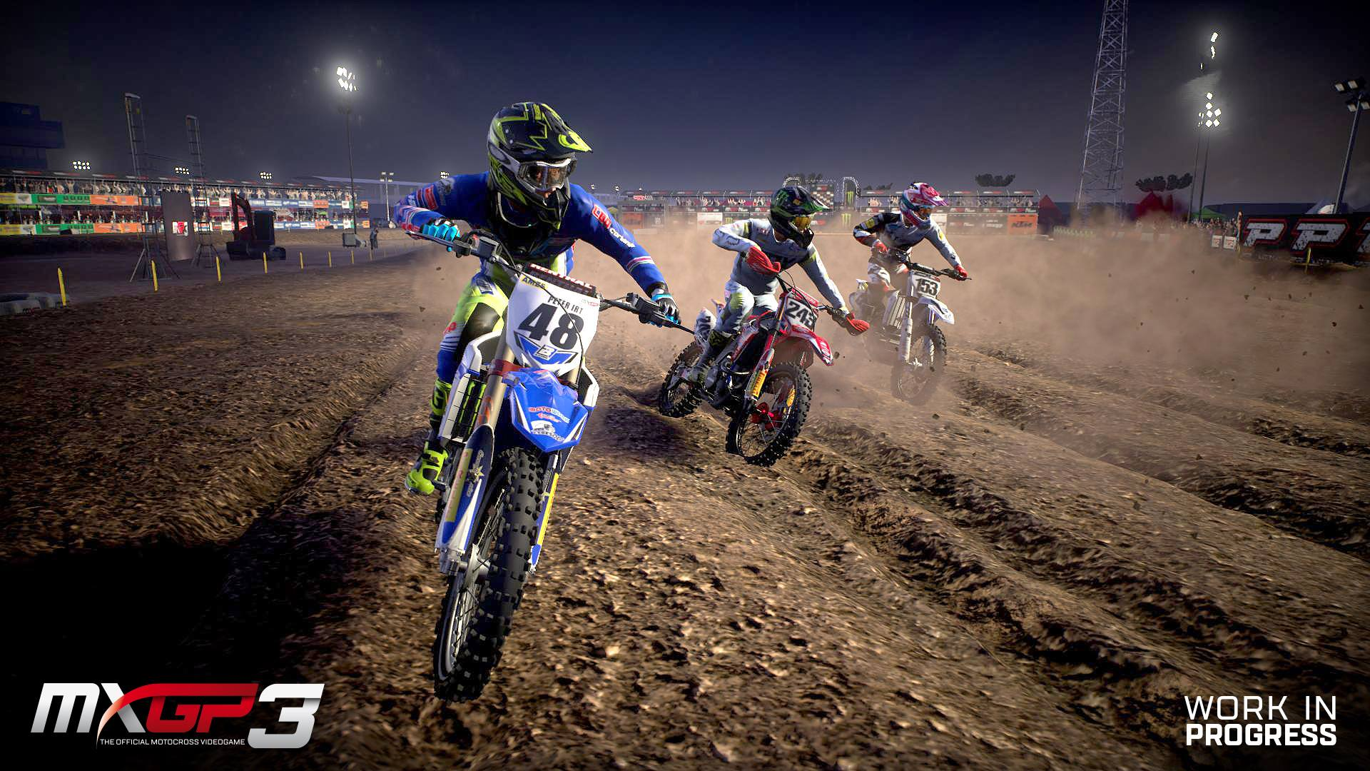 MXGP 3 dirt racing