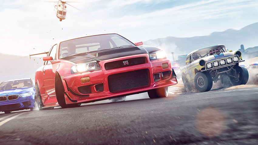 Need for Speed Payback artwork