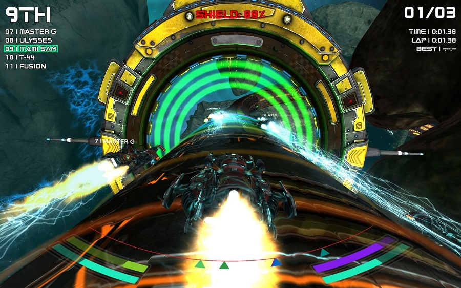 radial g racing revolved vr racing game psvr playstation 4 ps4 pc