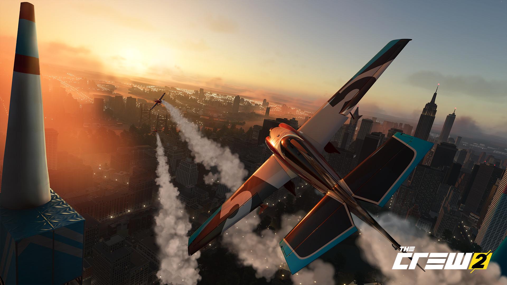 The Crew 2 plane racing
