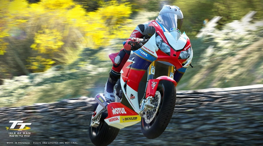 Latest TT Isle of Man: Ride on the Edge images highlight gorgeous scenery