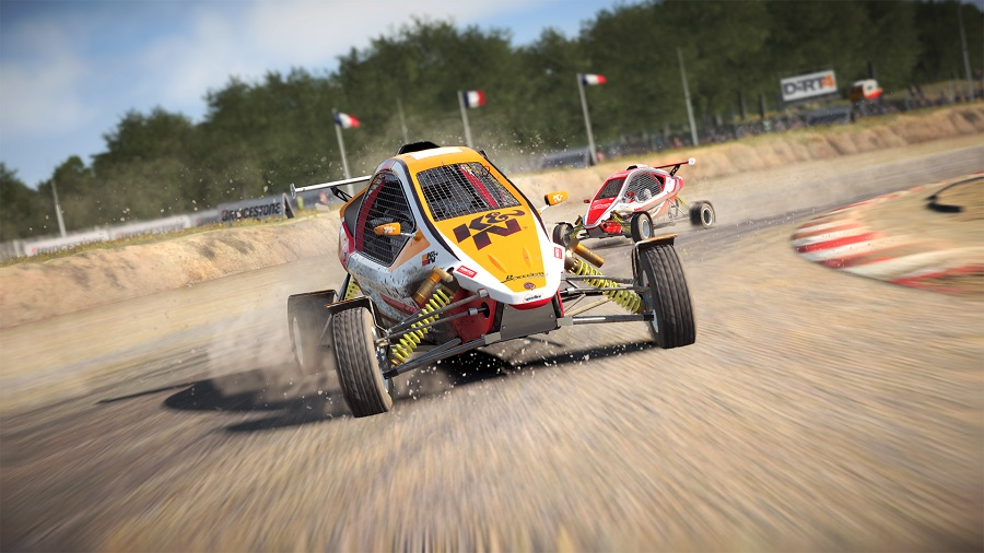 dirt 4 crosskarts rallycross rx
