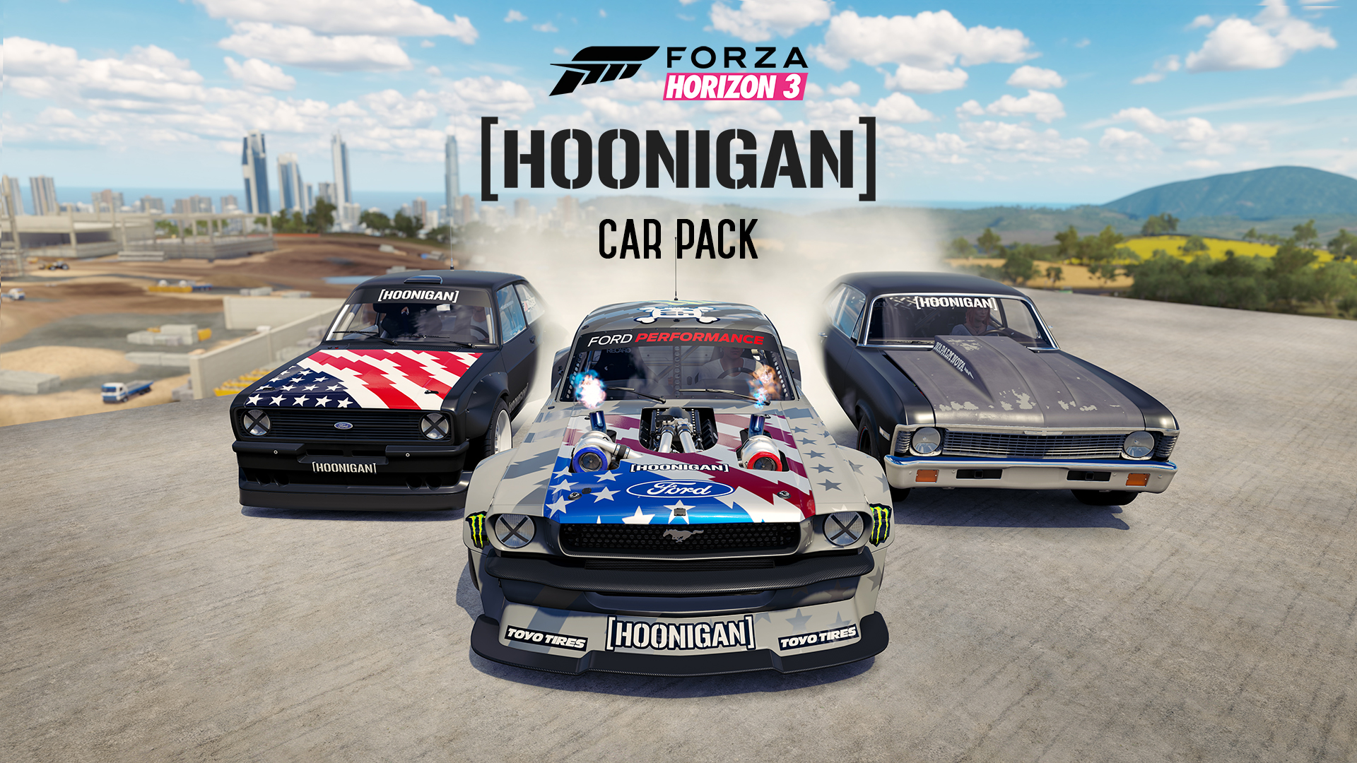 Hoonigan Car Packs announced for Forza Motorsport 7 and Forza Horizon 3