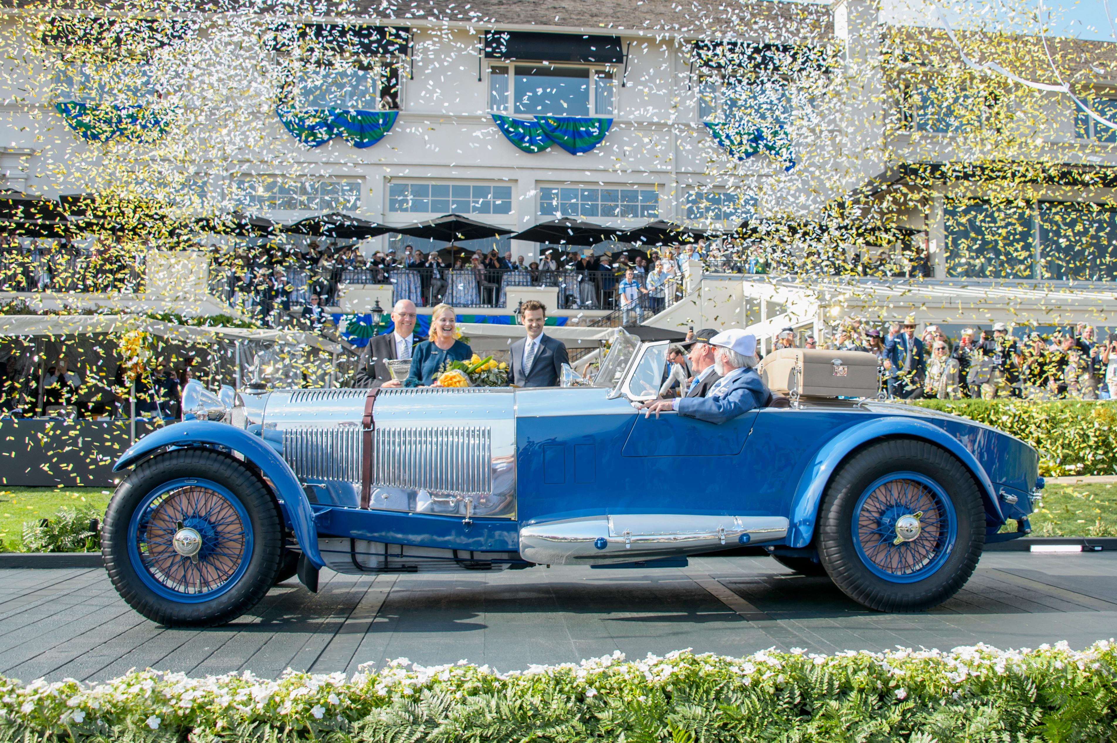 1929 Mercedes-Benz S Barker Tourer wins Gran Turismo Trophy at Pebble Beach Concours d'Elegance