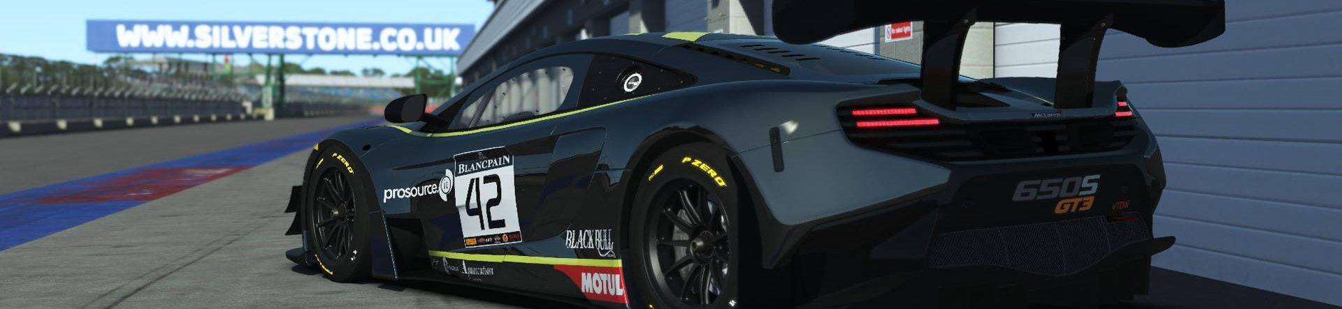 McLaren 650S GT3 released in rFactor 2 as premium DLC