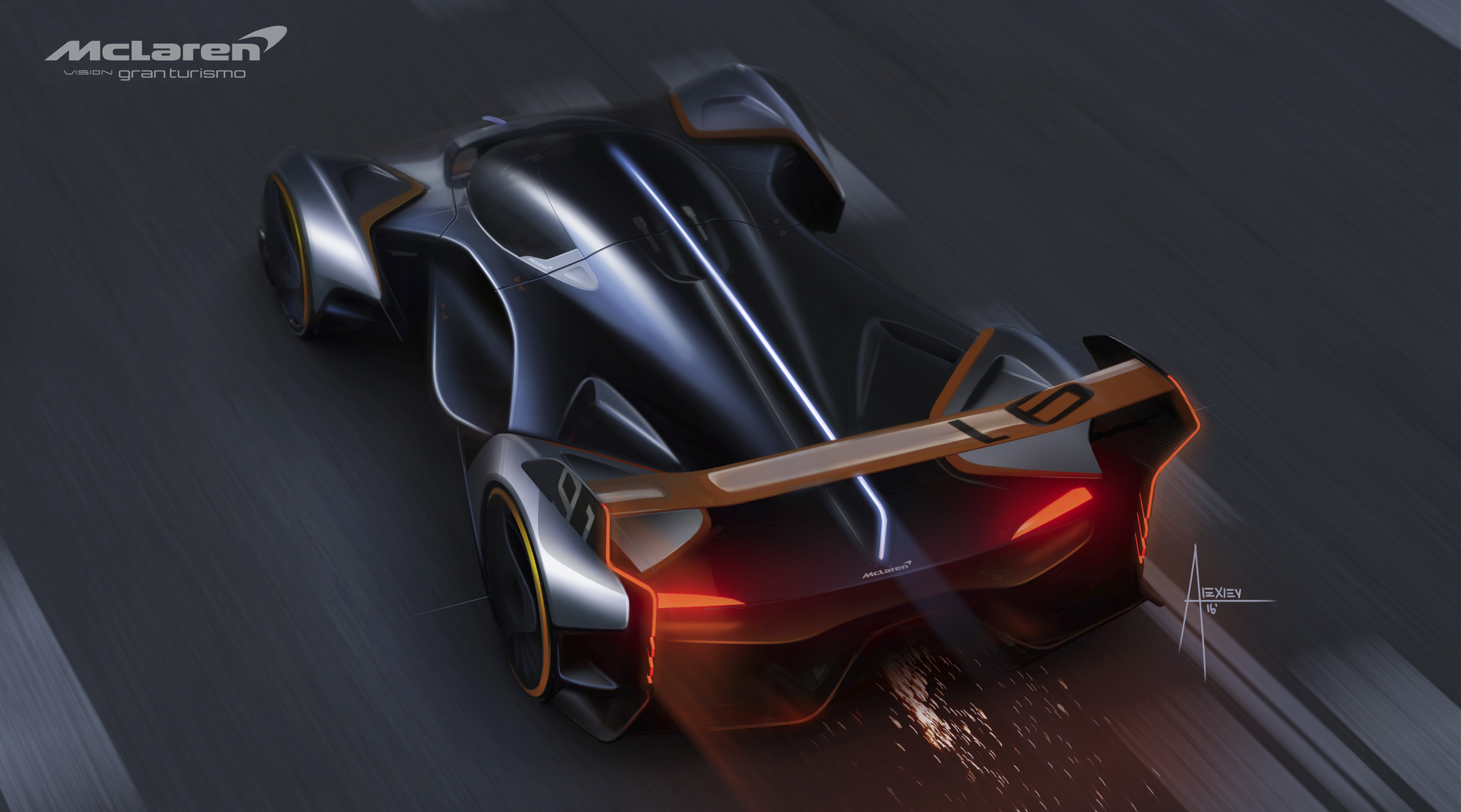 McLaren Ultimate Vision Gran Turismo concept car revealed