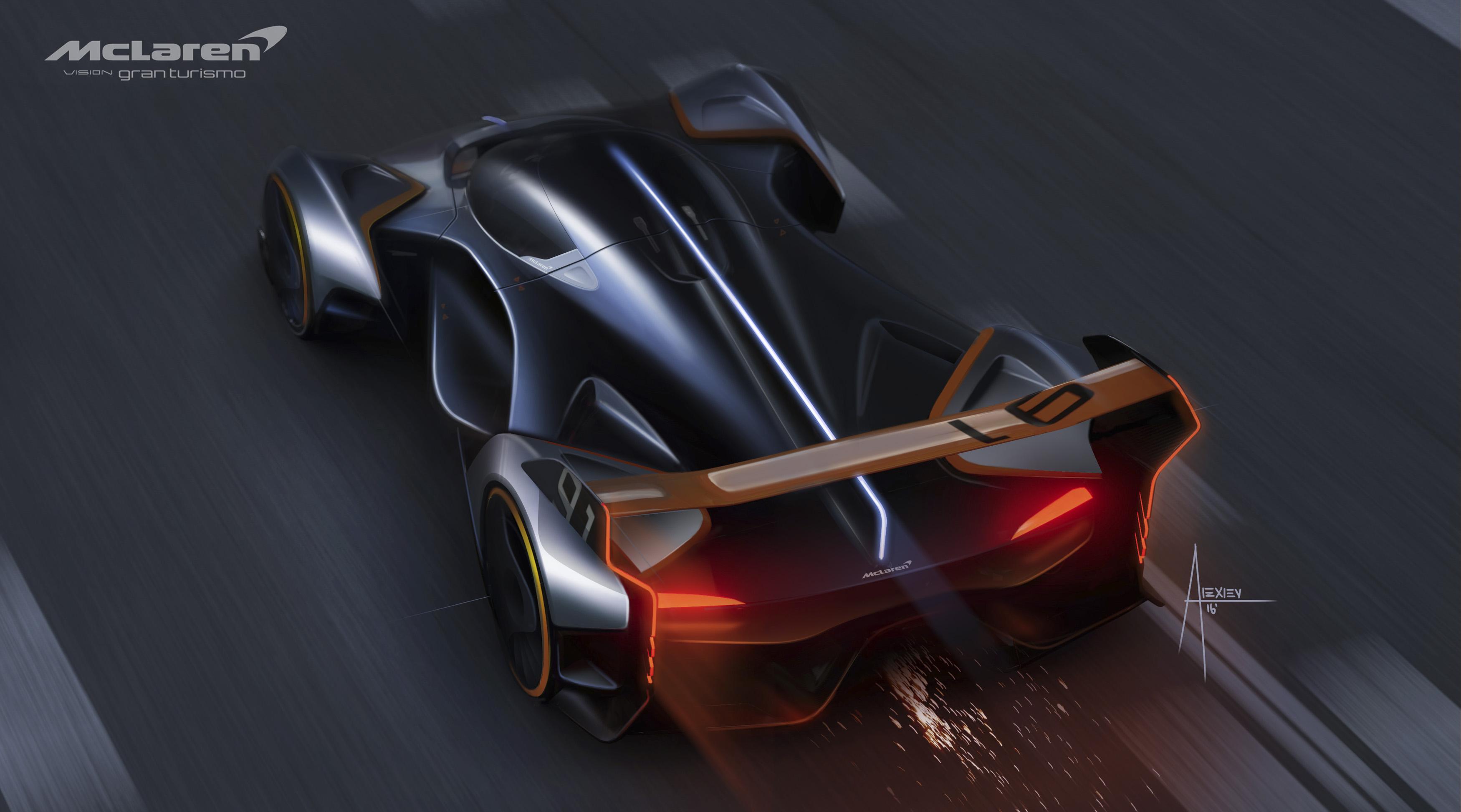 McLaren Ultimate Vision Gran Turismo concept car revealed