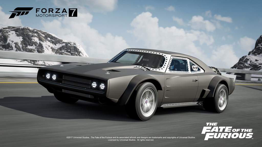 You can drive cars from Fast and Furious 8 in Forza Motorsport 7 ...