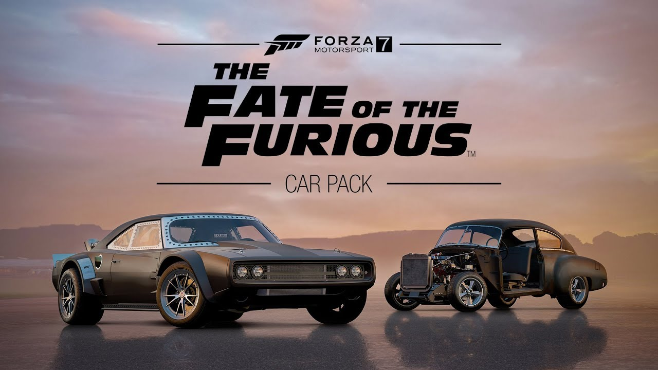 You Can Drive Cars From Fast And Furious 8 In Forza Motorsport 7
