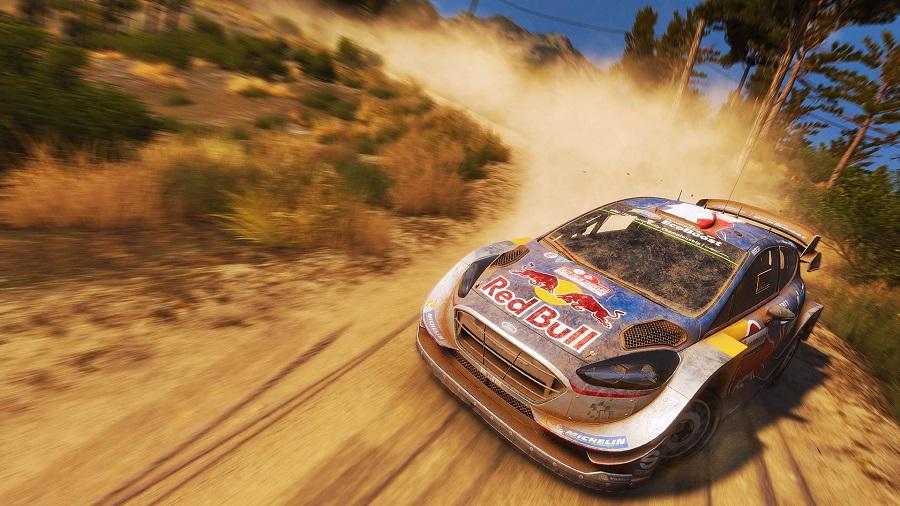 wrc 7 ford fiesta rally car australia