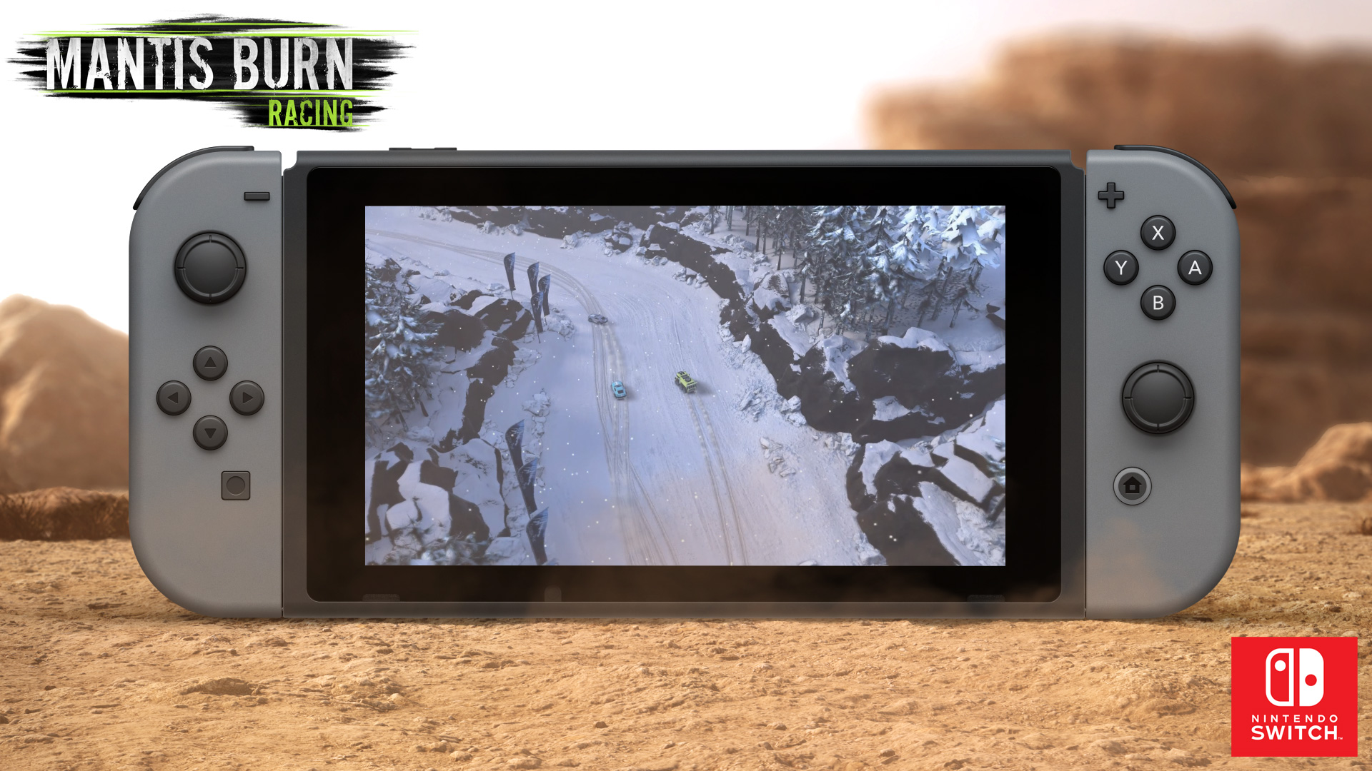 Mantis Burn Racing will run at 60fps on Nintendo Switch