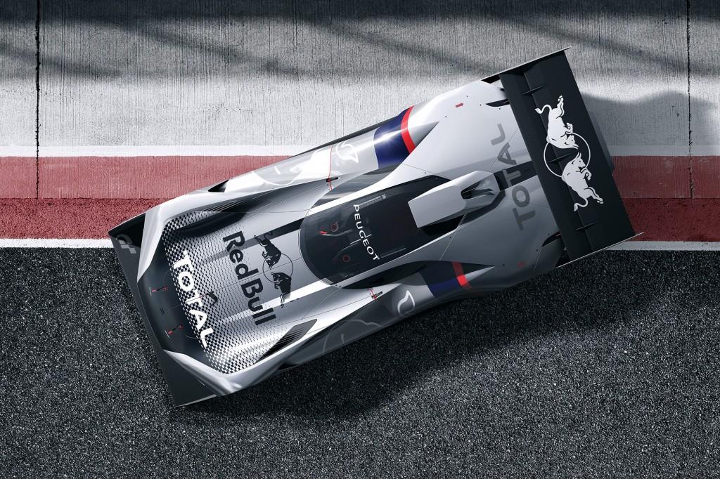 Peugeot reveals L750 R Hybrid Vision Gran Turismo racing car concept ...