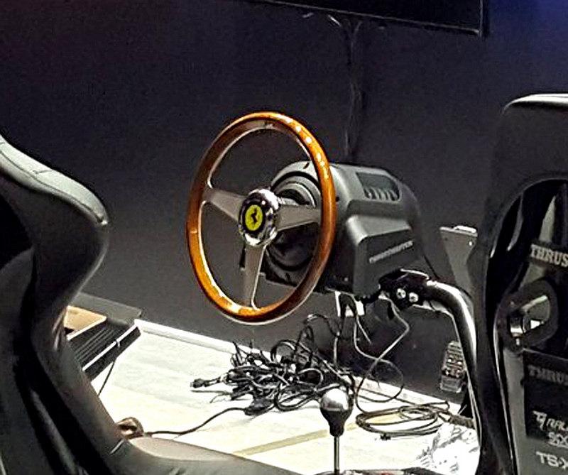 thrustmaster 250 gto ferrari wheel rim