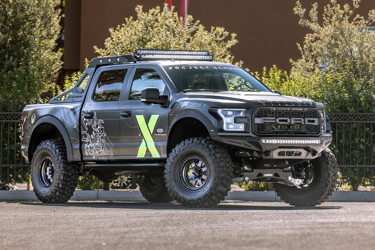 Ford F-150 Raptor Xbox One X Edition revealed at SEMA; coming to Forza Motorsport 7 in early 2018