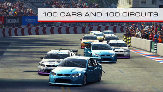 grid autosport ios iphone mobile ipad aussie v8
