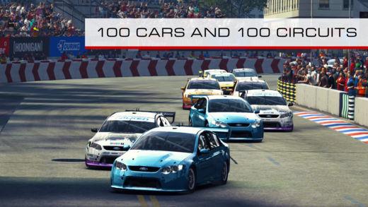 grid autosport ios iphone mobile ipad aussie v8