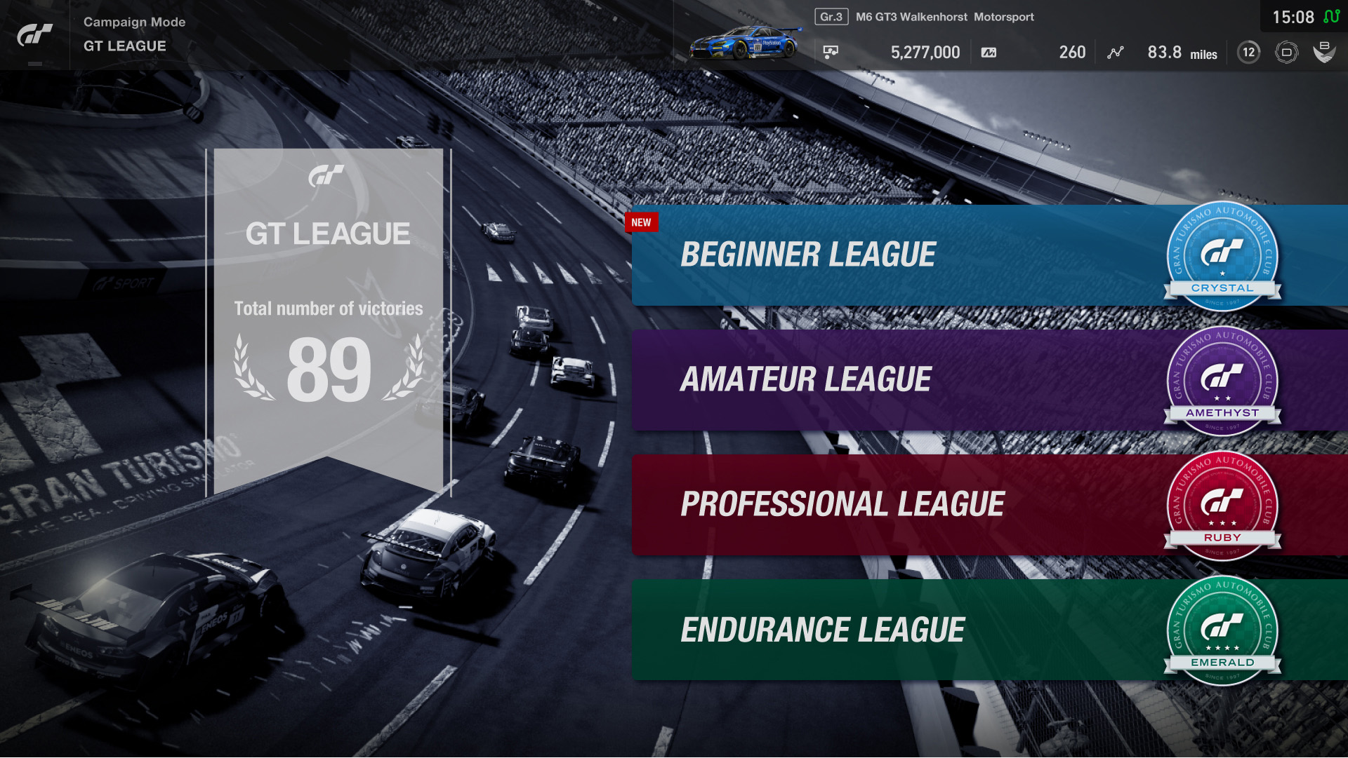 'GT League' single player campaign coming to Gran Turismo Sport in December 2017