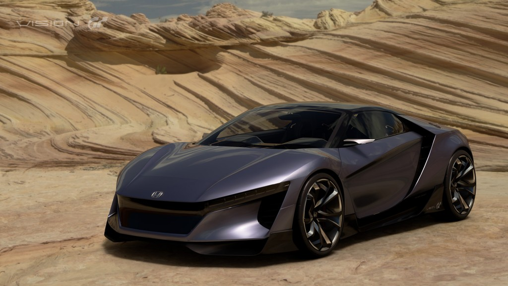 Honda Sports Vision Gran Turismo Sports Car Concept Revealed In Full
