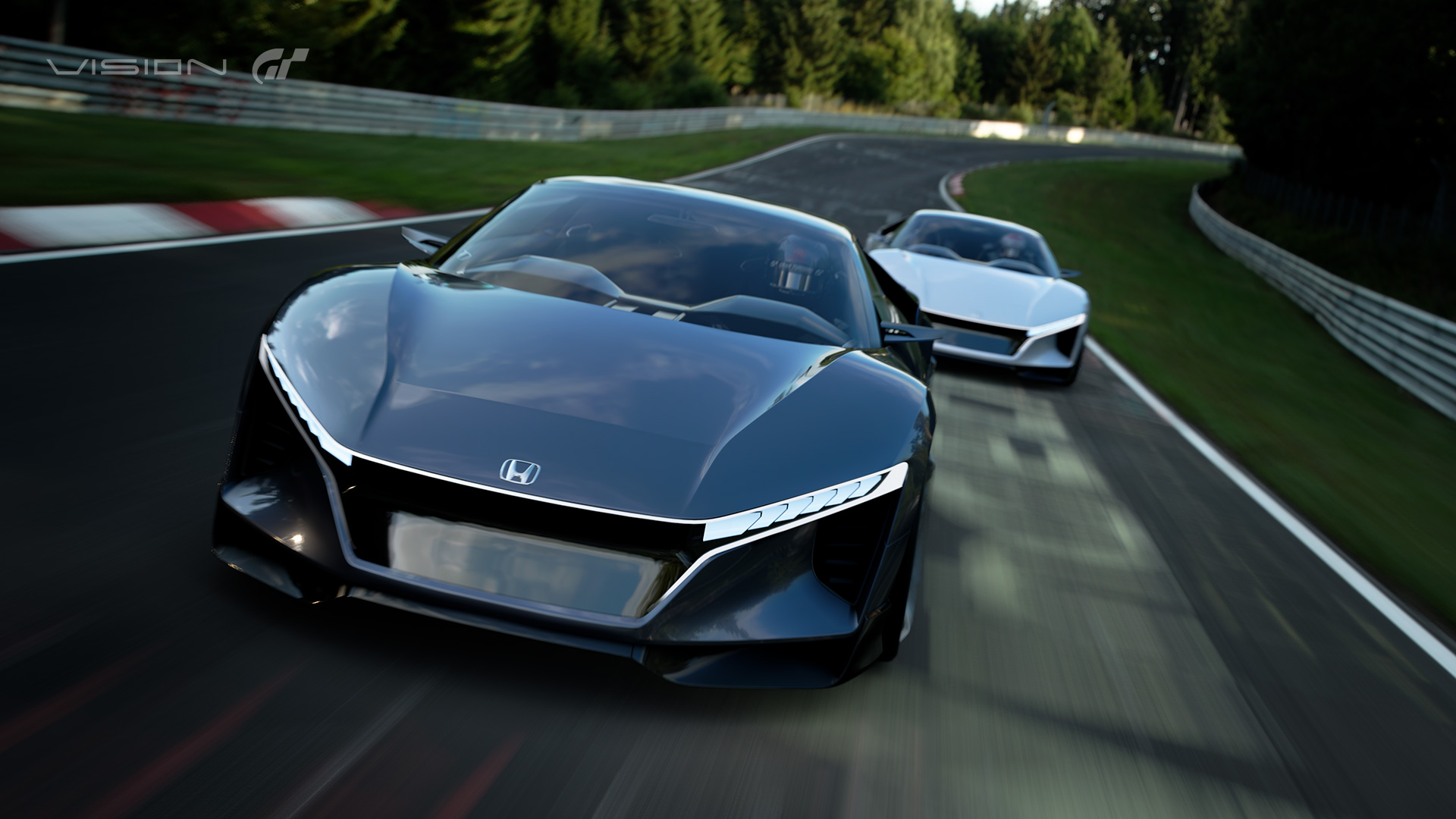 Honda Sports Vision Gran Turismo sports car concept revealed in full