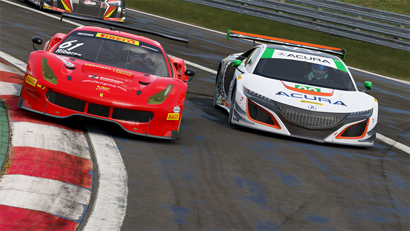 Project CARS 2 demo Ferrari 488 GT3 Lamborghini Huracán LP610-4