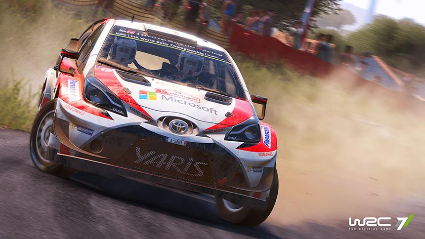 WRC 7 screenshot Toyota Yaris