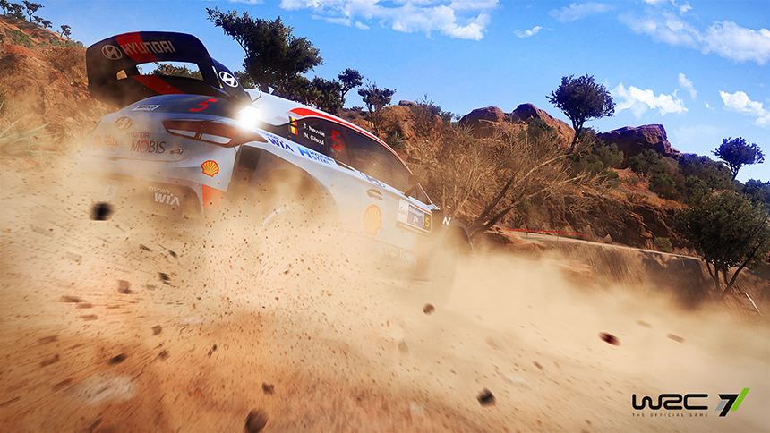 WRC 7 screenshot Hyundai i20