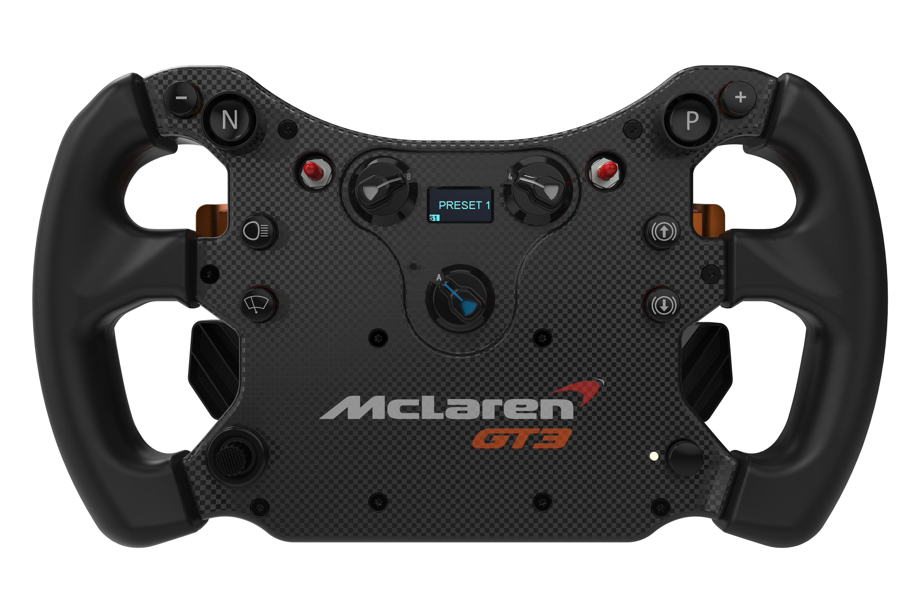 Fanatec announces McLaren GT3 CSL Elite wheel rim