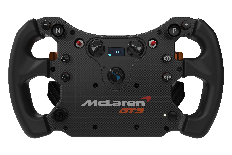 Fanatec announces McLaren GT3 CSL Elite wheel rim