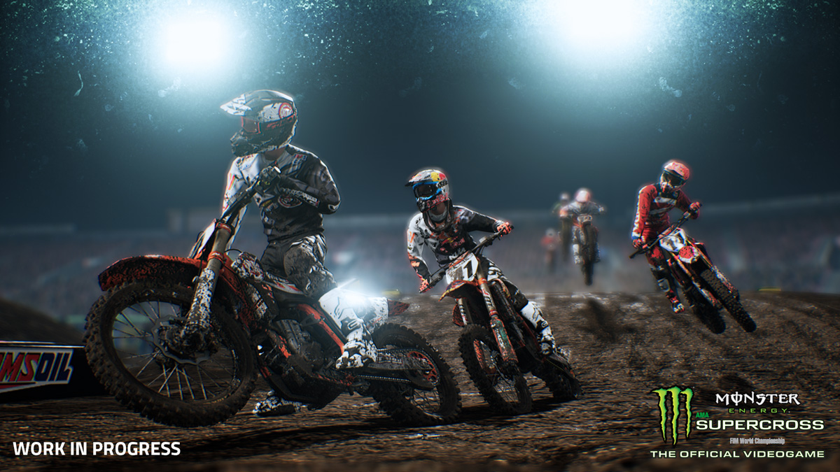 Monster Energy Supercross - The Official Videogame landing on consoles and PC next year