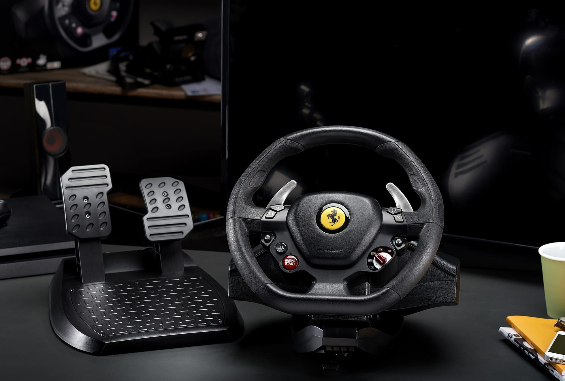 Thrustmaster T80 Ferrari 488 GTB Edition PS4 wheel revealed for budget-conscious sim racers
