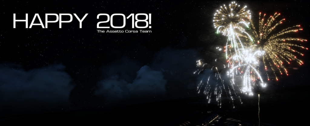 Assetto Corsa happy new year 2018