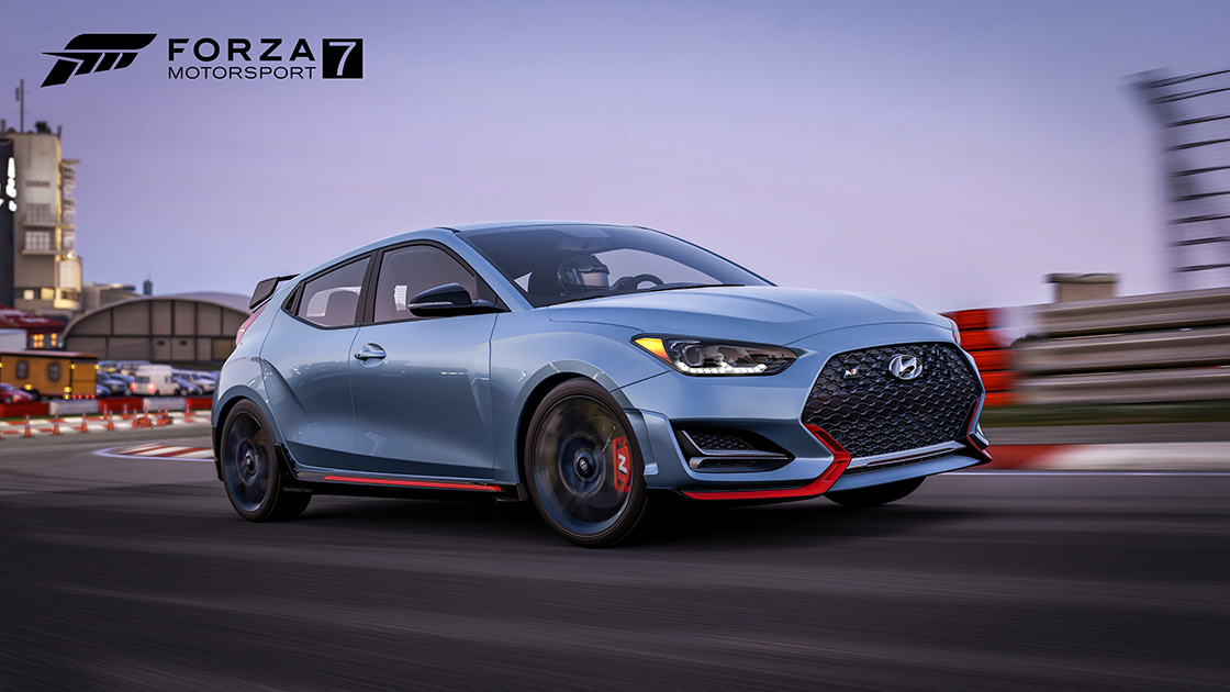 2019 Hyundai Veloster N coming to Forza Motorsport 7 for free