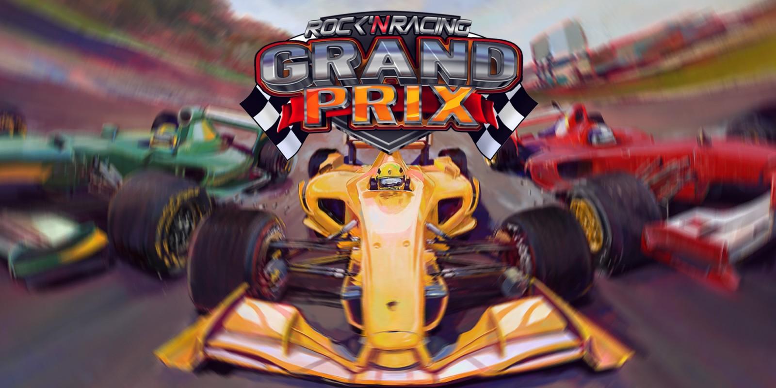 Grand Prix Rock 'N Racing comes to Switch eShop