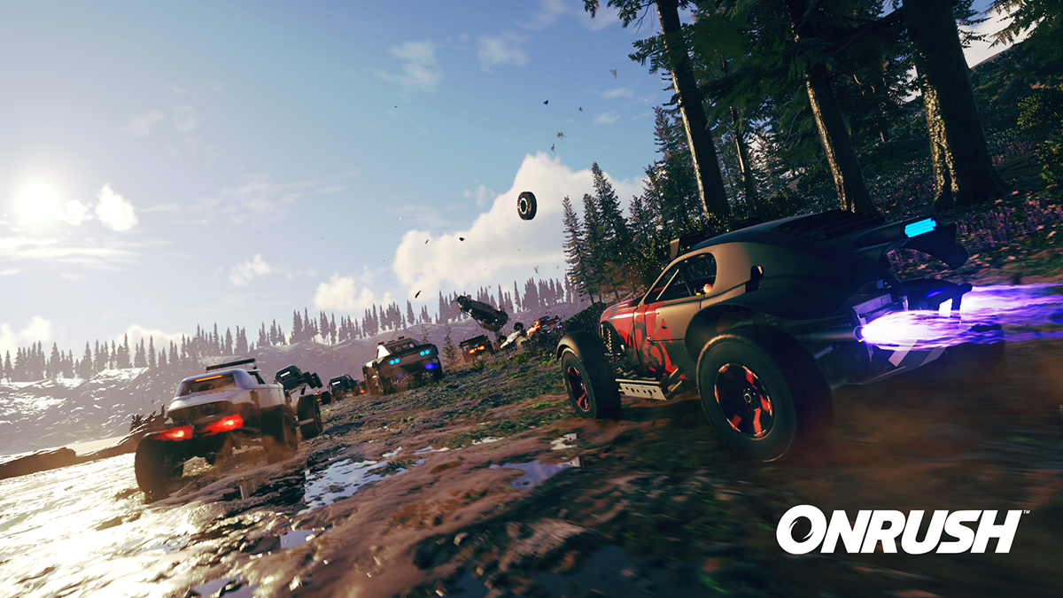 New Onrush screenshots bring back memories of MotorStorm, June release date confirmed