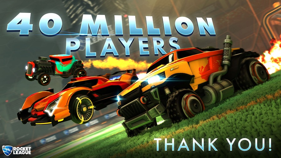 rocket league 40 million players