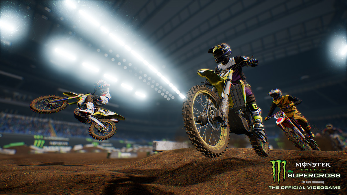 Monster Energy Supercross - The Official Videogame track editor screenshot