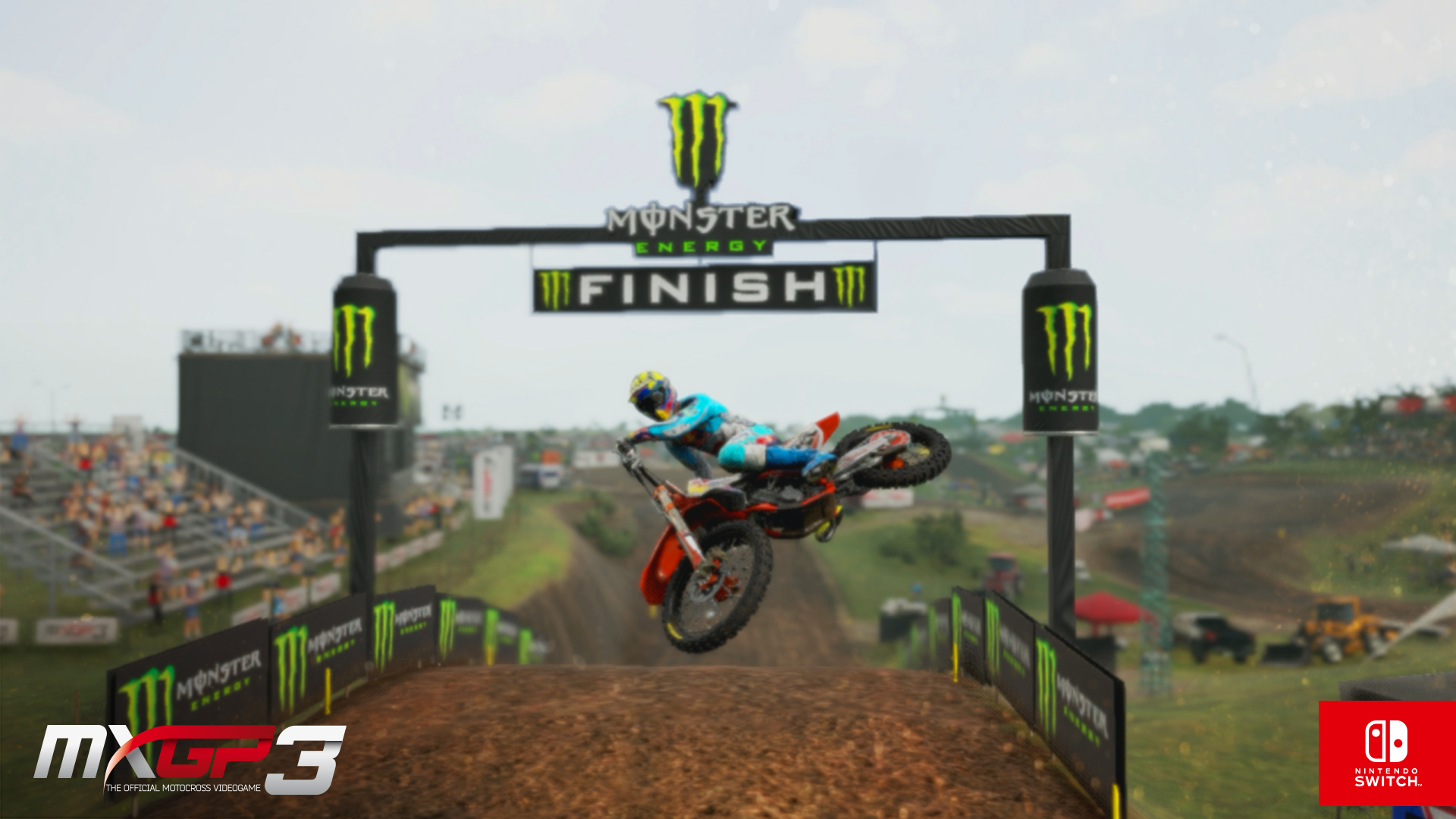MXGP 3 Nintendo Switch screenshot