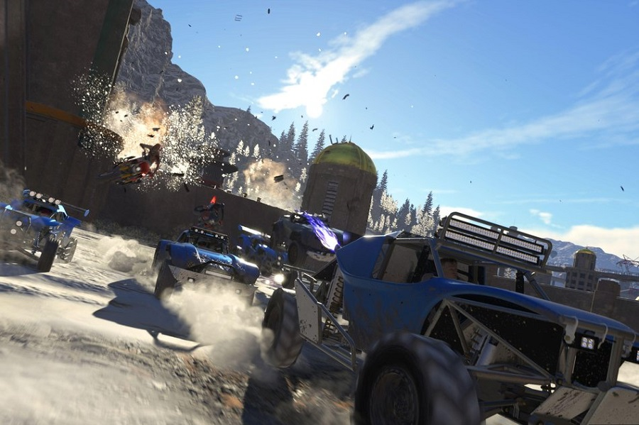 OnRush redefines the racing genre by doing away with the finishing line