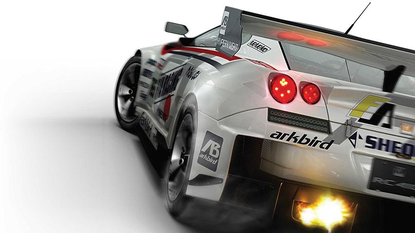 Ridge Racer 7 main art