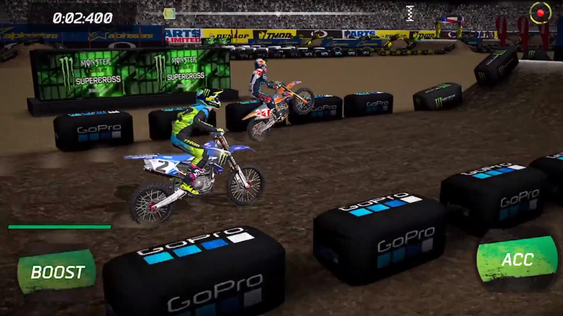 Monster Energy Supercross mobile game releases on iOS