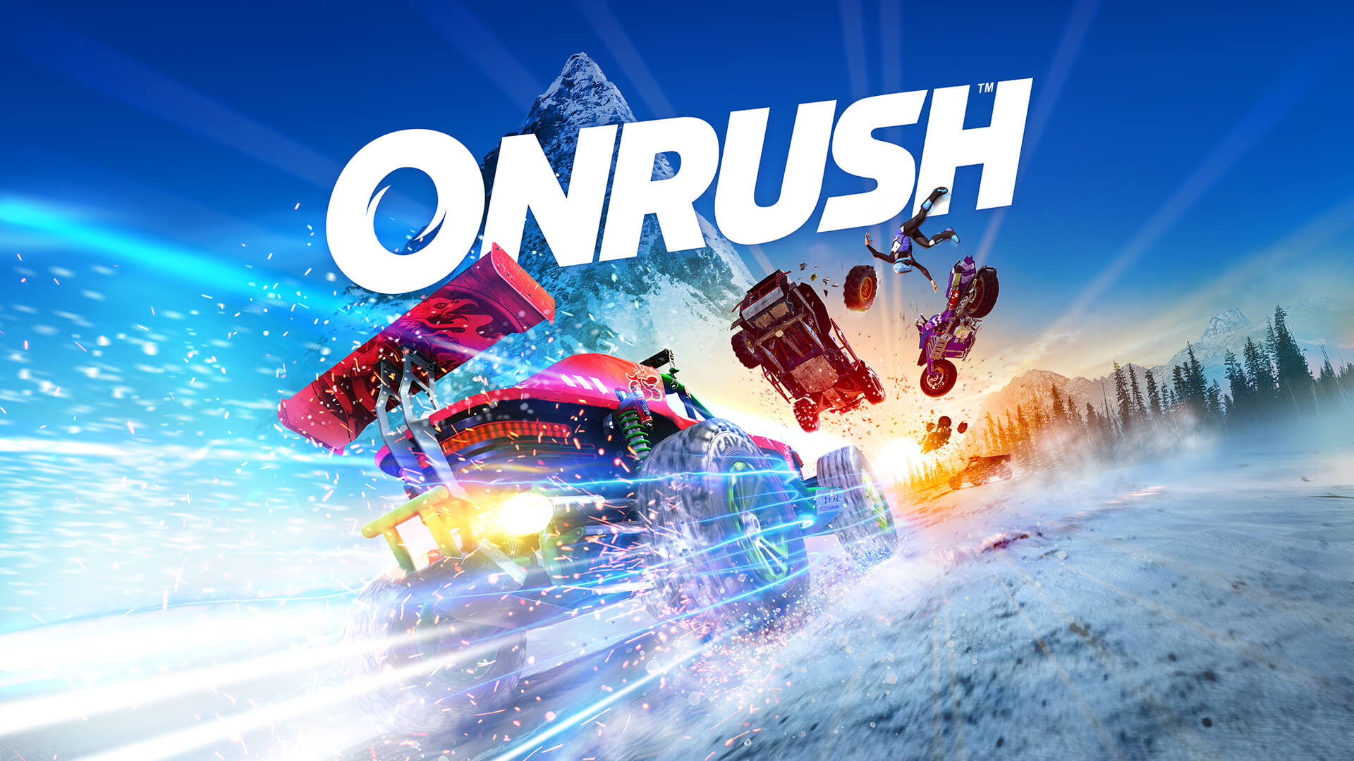 Onrush Xbox One X preview gameplay