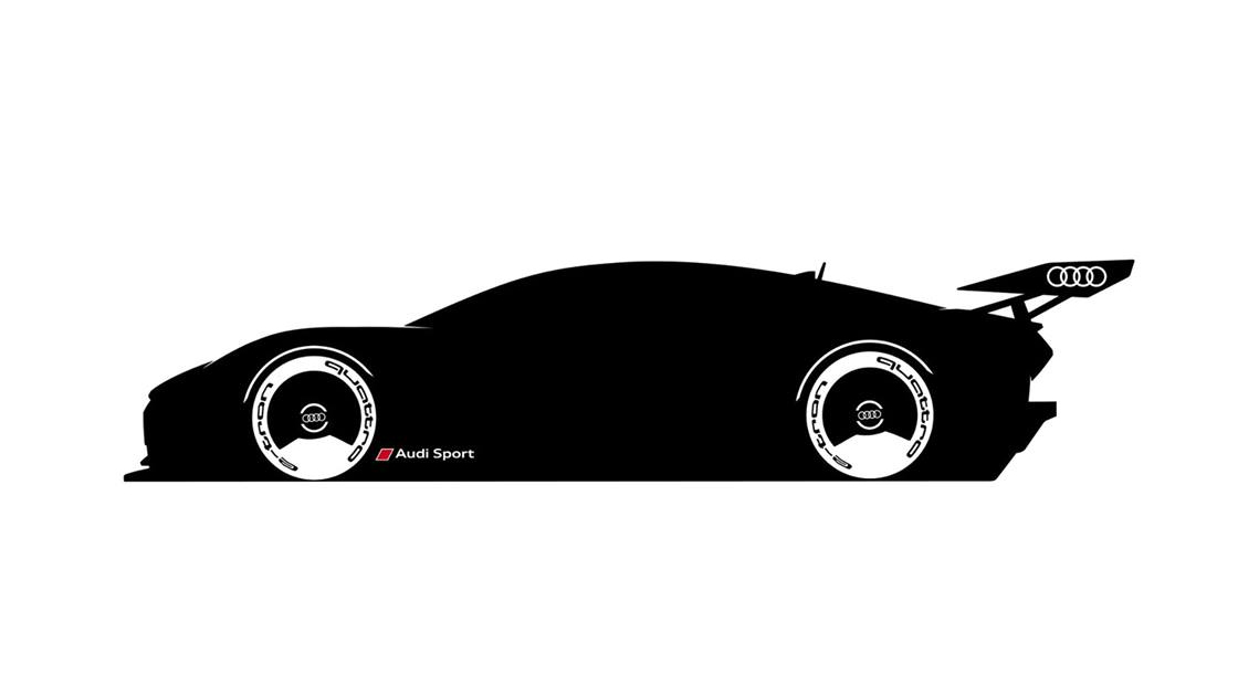 Audi's Vision Gran Turismo concept car teased; coming to GT Sport on 9th April