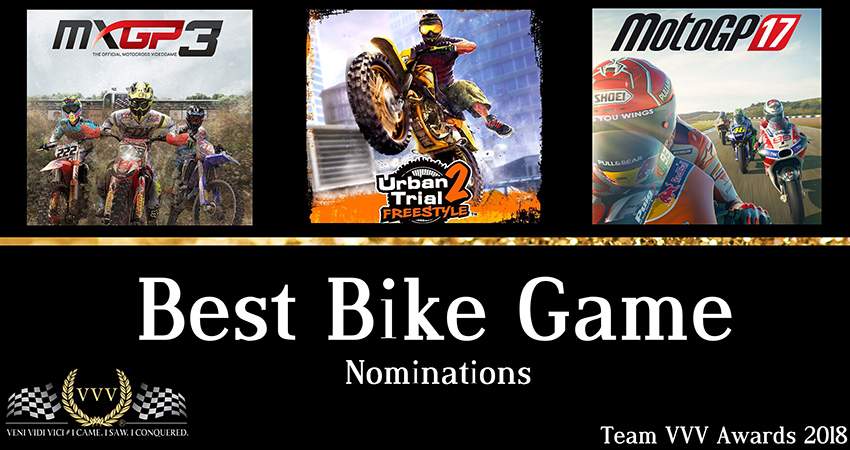 Team VVV Racing Game Awards 2018 Best Bike Game